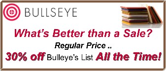 Bulleye Glass Sale