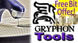 Gryphon Zephyr Glass Ring Saw