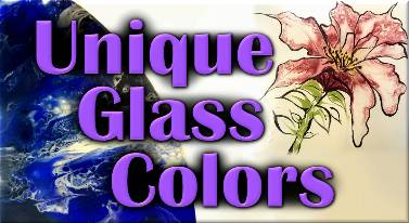 Unique Glass Colors