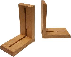 Wood Bookends