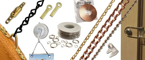 Hooks, Clips,Chain and Wire