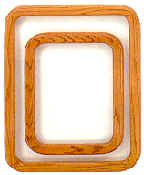 Oak Square Frame