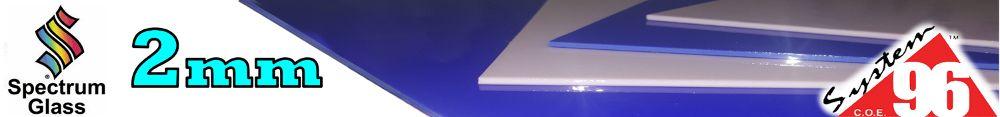 Spectrum System 96 2mm Glass