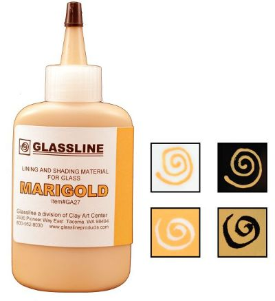 Glassline Marigold Paint