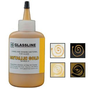 Glassline Gold Paint