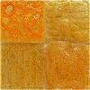 Unique Glass Colors Yellow-Orange Artisan