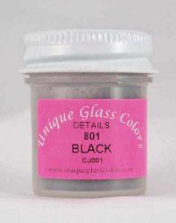 Unique Glass Colors Black Detail