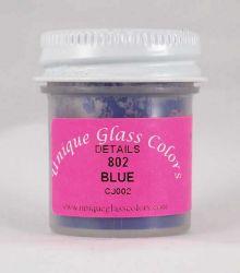 Unique Glass Colors Blue Detail