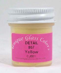 Unique Glass Colors Yellow Detail