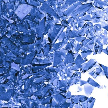 Uroboros Navy Blue Frit