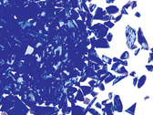 Uroboros Cobalt Blue Opal Frit