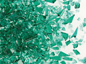Uroboros Teal Green Frit