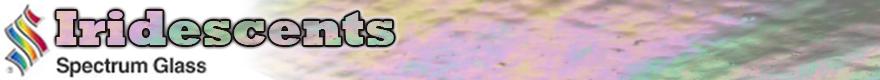 Spectrum Iridescent Glass