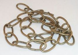 Antique Lamp Chain