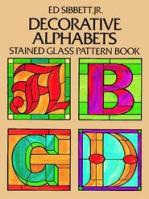 Decorative Alphabets Stained Glass