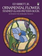 Ornamental Flower Stained Glass