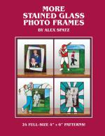 More Stained Glass Photo Frames