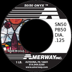 Amerway Onyx 50/50 Solder