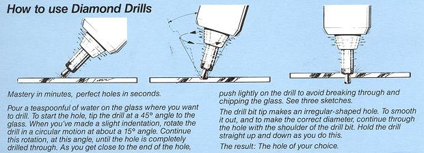 Glastar Drill Bits